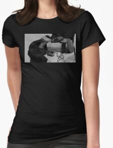 Still Life with Zapper Womens Fitted T-Shirt