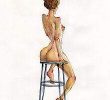 Nude Watercolor by tokimonster