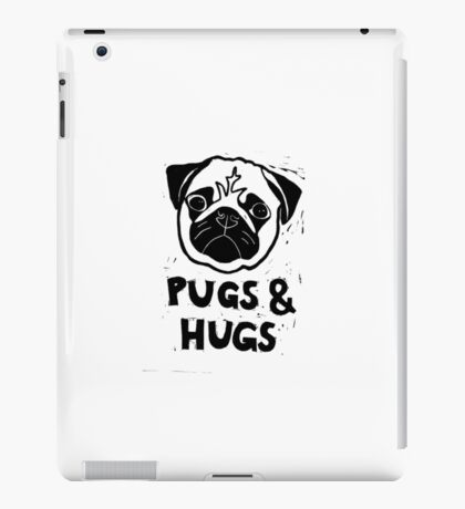 Pugs & Hugs iPad Case/Skin