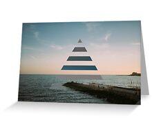 triangle Greeting Card