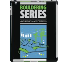 Bouldering world cup series_China iPad Case/Skin
