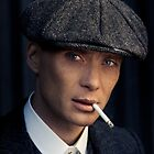 Cillian Murphy - Peaky Blinders - Tommy Shelby - Poster by peytonsawyer