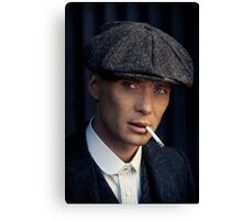 Cillian Murphy - Peaky Blinders - Tommy Shelby - Poster Canvas Print
