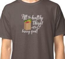 Fun Rabbit Shirt for the Grocery Store - Light Classic T-Shirt