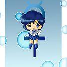 Chibi Sailor Mercury by artwaste