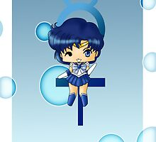 Chibi Sailor Mercury by artwaste