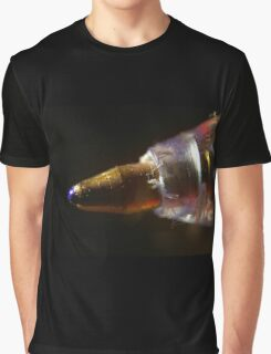 blue ballpoint pen tip macro Graphic T-Shirt