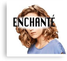 Delphine - Enchanté Canvas Print