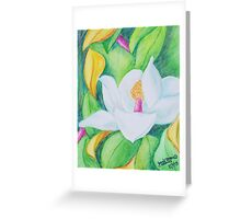 Murrel Magnolia Greeting Card