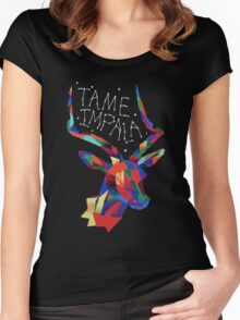 Tame Impala Deer Women's Fitted Scoop T-Shirt