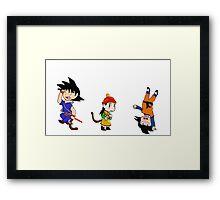 Dragonball (Z) - Son Family Boys Framed Print