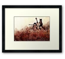 Midsummer Midnight Sonata Framed Print
