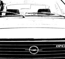 Car Radio Sticker
