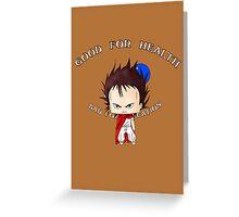 Chibi Tetsuo Shima Greeting Card