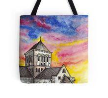 Abbaye de Lessay, France Tote Bag