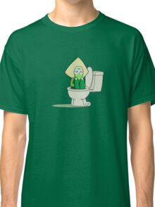 Peridot in the Toilet Classic T-Shirt