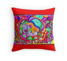 Saturday...Later III Throw Pillow