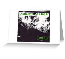 cabaret voltaire mix-up Greeting Card