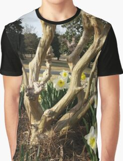 Twisted Daffodils Graphic T-Shirt
