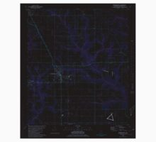 USGS TOPO Map Alabama AL Robertsdale 304963 1980 24000 Inverted Kids Tee