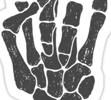 Skeleton hand Sticker