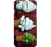 Halloween Monsters Team! iPhone Case/Skin