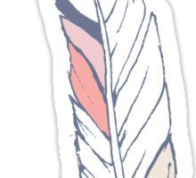Feather sticker Sticker