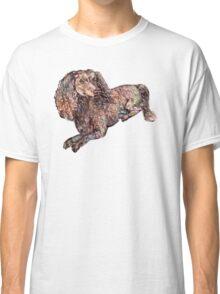 Dachshund Dog Pattern  Classic T-Shirt