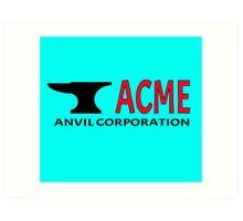 ACME Anvil Corporation Art Print