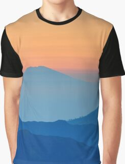Sunrise over Mountains Graphic T-Shirt