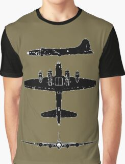 Boeing B17 F Flying Fortress T-Shirts and more.... Graphic T-Shirt