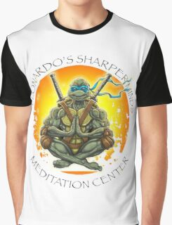 Meditating Leo  Graphic T-Shirt
