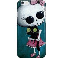 Little miss Death iPhone Case/Skin