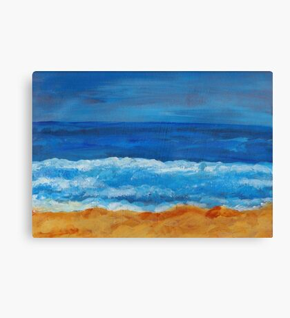 Afternoon Waves Canvas Print
