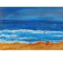 Afternoon Waves Photographic Print