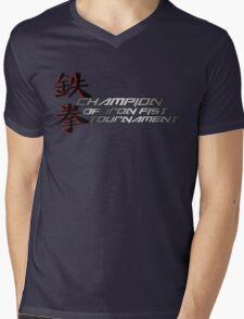 Fighting Champ Mens V-Neck T-Shirt