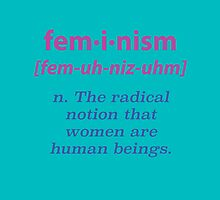 What is Feminism? Pillow by Gustave Monet