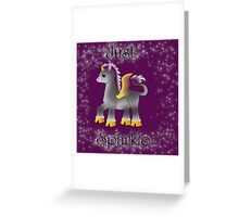 Just Sparkle Greeting Card