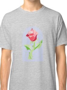 Stain Glass Rose - Beauty and the Beast Classic T-Shirt