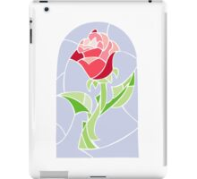 Stain Glass Rose - Beauty and the Beast iPad Case/Skin