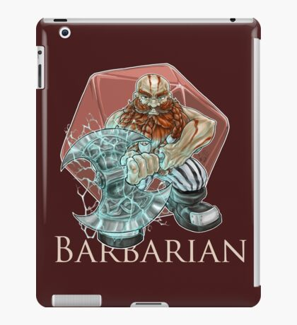 Dungeons and Dragons Barbarian iPad Case/Skin