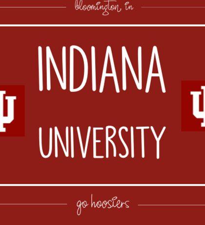 Indiana Stampt Sticker