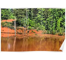 The red pond HDR Poster