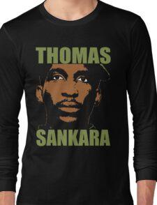 Thomas Sankara-3 Long Sleeve T-Shirt