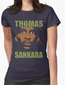 Thomas Sankara-3 Womens Fitted T-Shirt