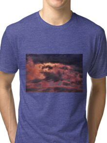 Cloud 20141010-17 Tri-blend T-Shirt