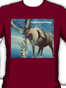 frozen Olaf and Sven T-Shirt