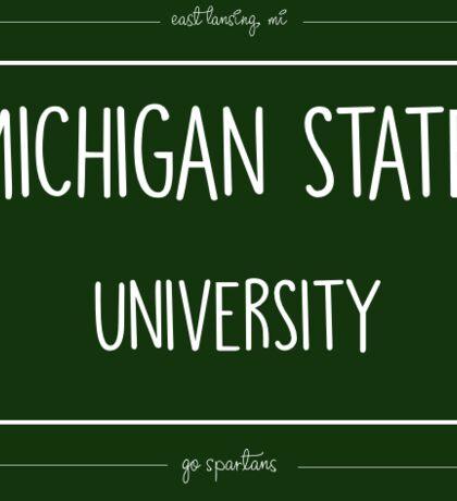 Michigan State Stamp Sticker