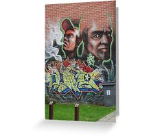 Graffiti Lille Greeting Card