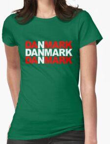 Danmark Womens Fitted T-Shirt